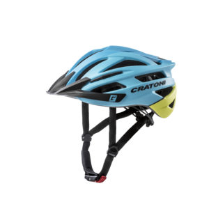 Шлем Agravic blue-yellow matt
