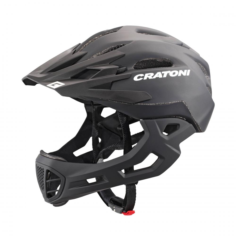 Шлем велосипедный C-MANIAC FULL FACE CRATONI черный