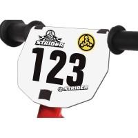 Номерной знак на руль STRIDER