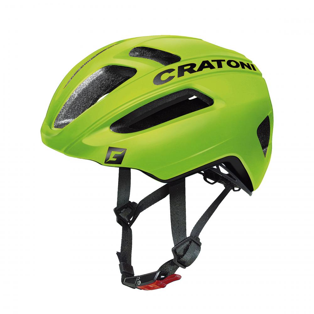 Шлем Cratoni C-Pro lime-black