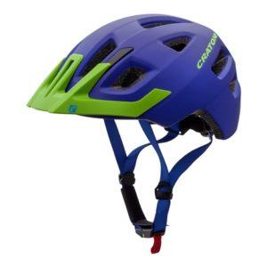 Детский шлем Maxster Pro сине-зеленый матовый
