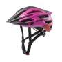 Шлем Agravic black-pink-red matt