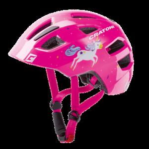 Детский шлем Cratoni Maxster Unicorn Pink